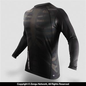PunchTown Fracture Long Sleeve Rashguard
